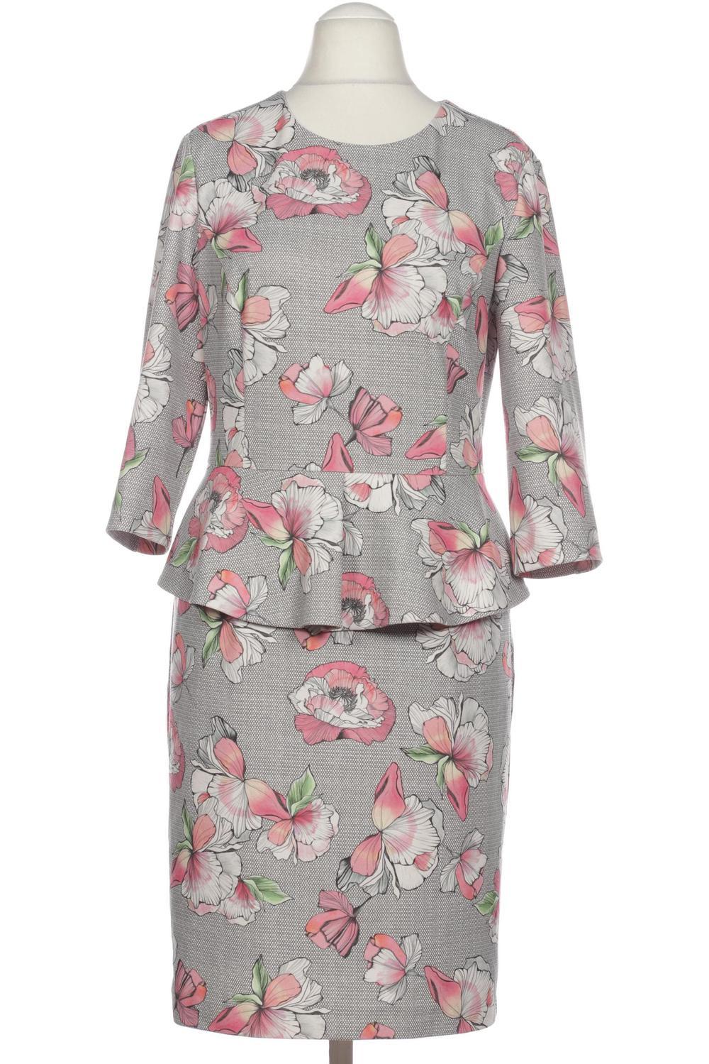 details zu betty barclay kleid damen dress damenkleid gr. de 38 kein  etikett grau #0c26837