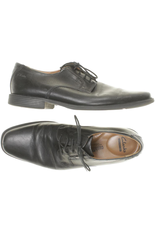 Details zu Clarks Halbschuh Herren Slipper feste Schuhe Gr. DE 46 kein Etikett #fea7884