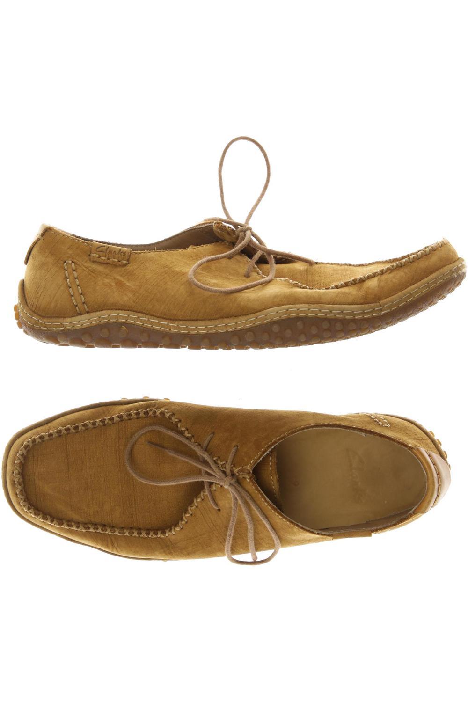 Details zu Clarks Halbschuh Herren Slipper feste Schuhe Gr. UK 9 (DE 43) kein E #bb4c822