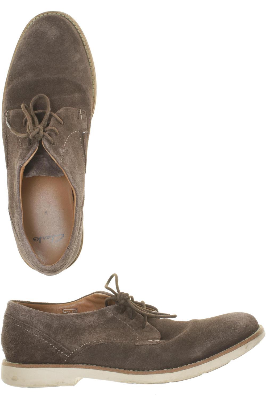 Clarks Halbschuh Herren Slipper feste Schuhe Gr. DE 43 Leder