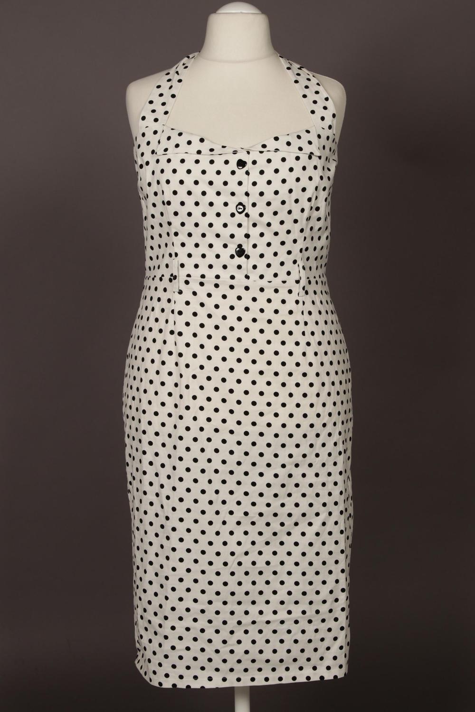 Kleid Vpsmqzu Dress Damenkleid Collectif Grint Elasthanbaumwol 4xl Damen ED2IHW9