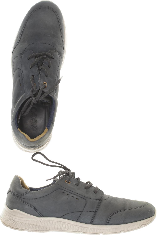 Herren Leder Halbschuh Ecco Schuhe 46 GrDe Slipper Feste