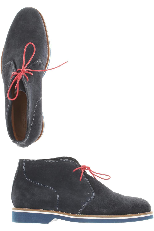 GANT Stiefel Herren Boots Gr. DE 40 Wildleder blau #af6c277