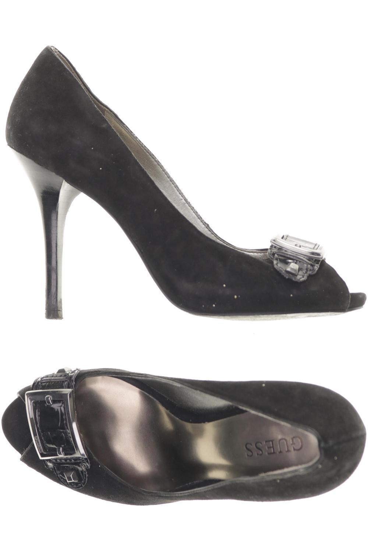 Details zu GUESS Pumps Damen High Heels Stiletto Gr. DE 37 Kunstleder, Leder sc #c22e7c0