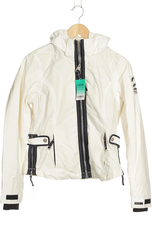 Details zu Gaastra Jacke Damen Mantel Gr. S weiß #3759621