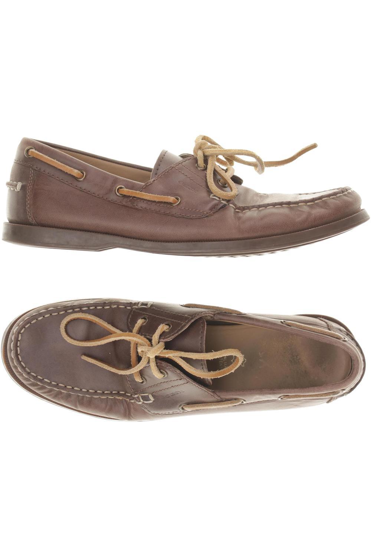 Details zu Geox Halbschuh Herren Slipper feste Schuhe Gr. DE 42 kein Etikett braun #bffb2ff