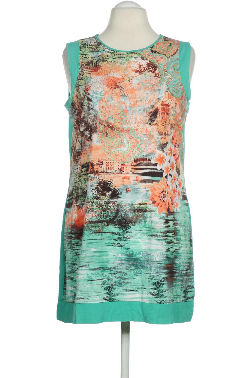 details zu gerry weber kleid damen dress damenkleid gr. xl kein etikett  grün #c7bc08b