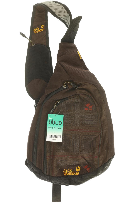 ausgewähltes Material riesige Auswahl an zuverlässige Leistung Jack Wolfskin Rucksack Damen Backpack Tasche Baumwolle braun ...