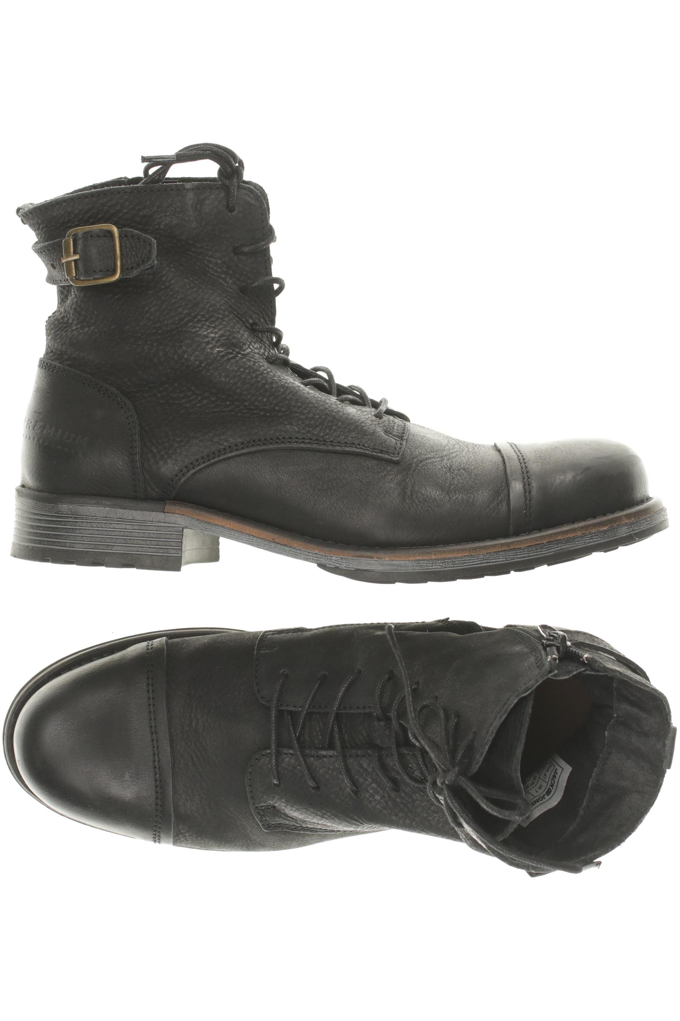 JACK & JONES Herren Stiefel DE 41 Second Hand kaufen