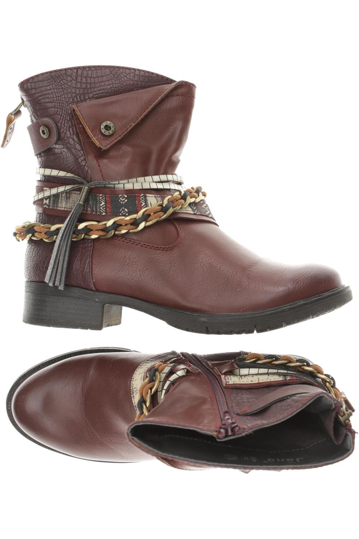 buy popular 13b79 616d4 Jana Stiefel Damen Boots Gr. DE 39 Baumwolle, Kunstleder rot ...