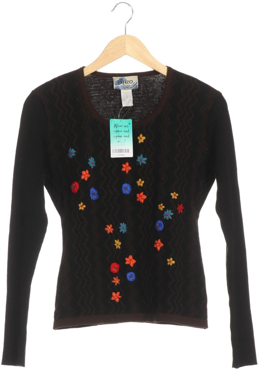 new arrival 64052 598aa Kenzo Pullover Damen Hoodie Sweatshirt Gr. XL Wolle schwarz ...