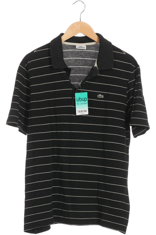 super popular ef3c2 82d93 Details zu Lacoste Poloshirt Herren Polohemd Shirt Gr. M Baumwolle schwarz  #a5b9eab