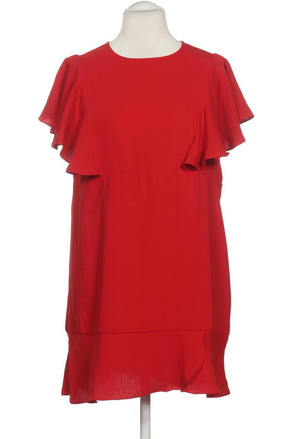 MANGO Kleid Damen Dress Damenkleid Gr. L kein Etikett rot ...