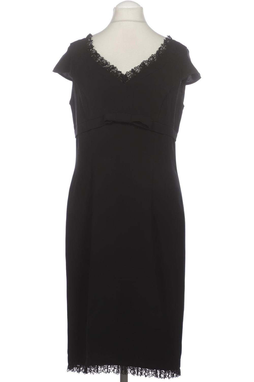 details zu madeleine kleid damen dress damenkleid gr. de 42 viskose schwarz  #a098bbb