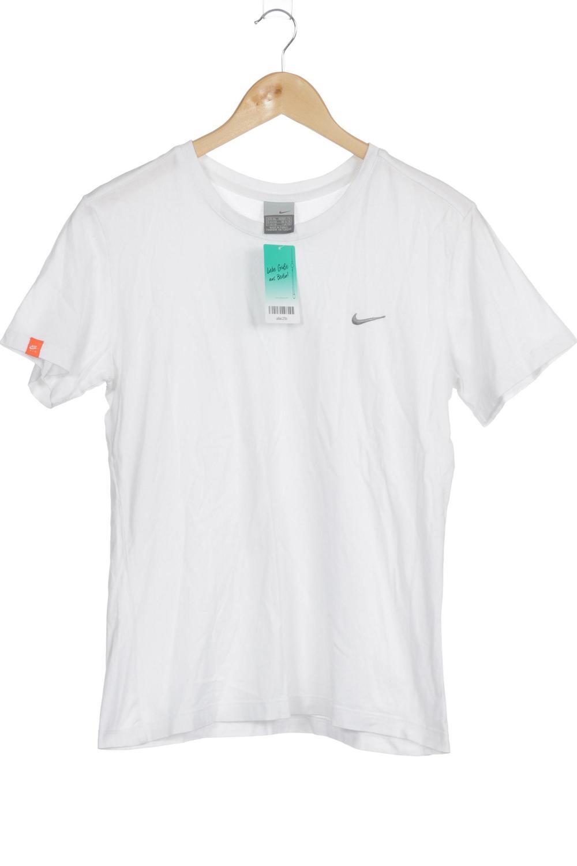 Details zu Nike T Shirt Damen Oberteil Shirt Gr. INT XL kein Etikett weiß #a8ac25b