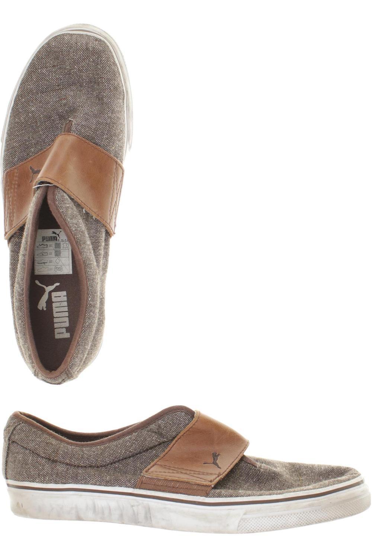 Details zu PUMA Halbschuh Herren Slipper feste Schuhe Gr. DE 42 kein Etikett braun #2c7a82c