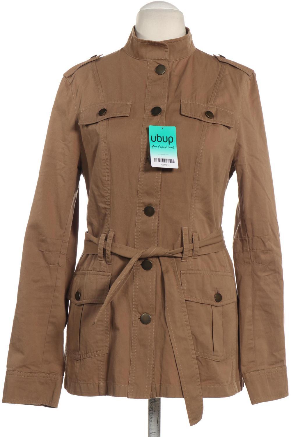 Details zu Promod Jacke Damen Mantel Gr. DE 36 Baumwolle beige #875dfa5
