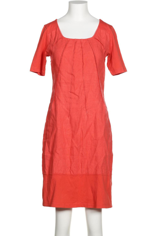 details zu qiero kleid damen dress damenkleid gr. de 36 baumwolle, leinen  pink 1c2c203