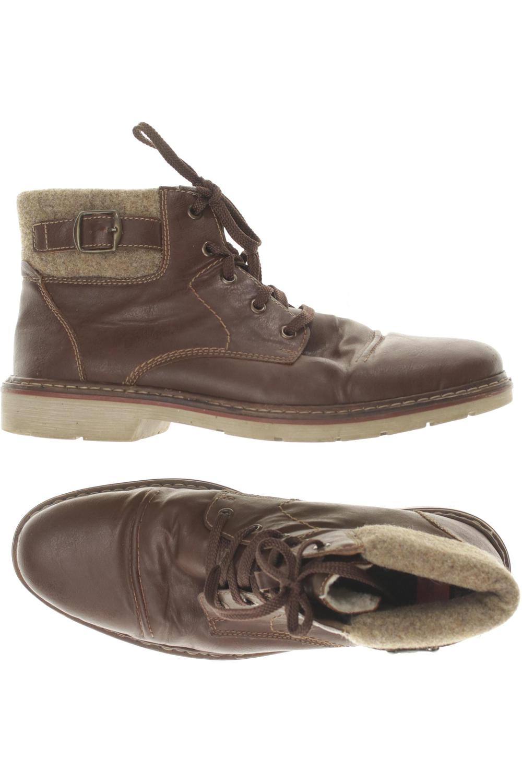 Details zu Rieker Stiefel Herren Boots Gr. DE 43 kein Etikett braun #db941da