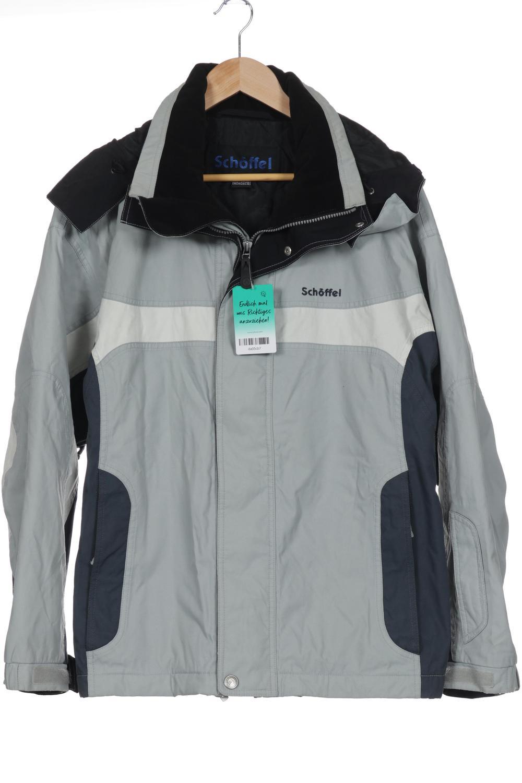Schöffel Jacke Herren Mantel Gr. DE 48 kein Etikett grau