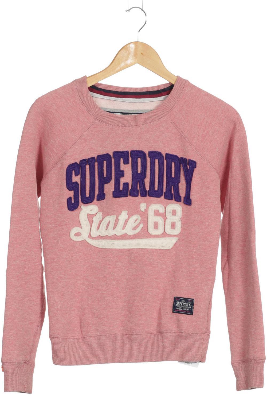 new arrival 68340 fa86a Details zu Superdry Sweatshirt Damen Hoodie Sweater Pullover Gr. XXS  Baumwolle ... #a385314