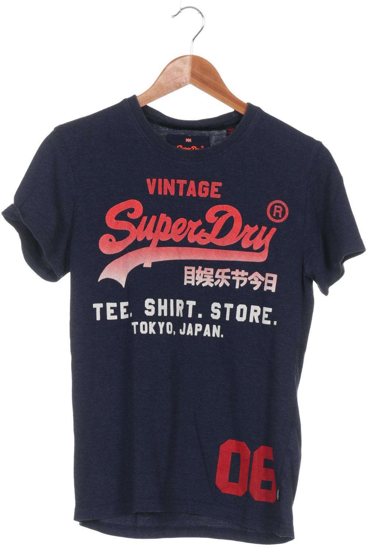 separation shoes 41581 e62d5 Superdry T-Shirt Jungen Oberteil Shirt Gr. M Baumwolle blau ...