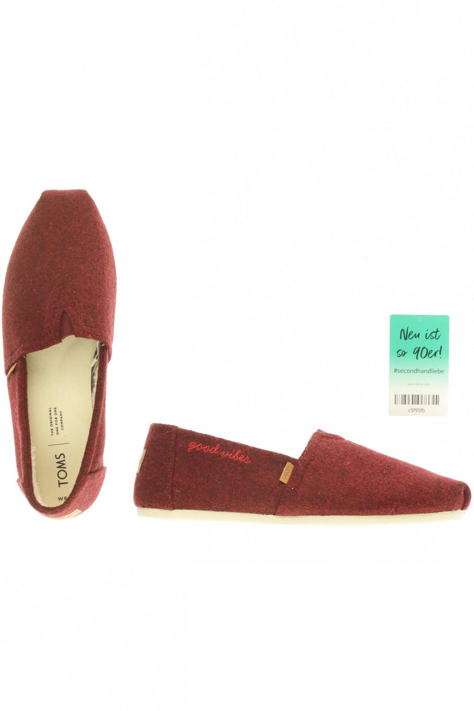 buy popular 81f38 dd6d5 TOMS Halbschuh Damen Slipper feste Schuhe Gr. DE 39 ...
