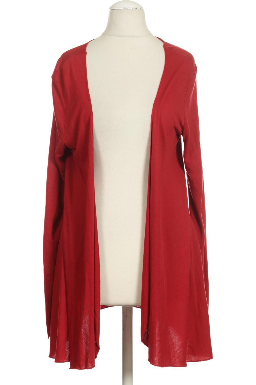 Tom Tailor Cardigan kuschelige Long-Strickjacke Freizeit-Jacke Große Größen Rot