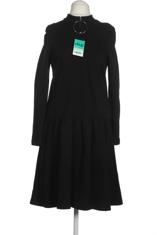 zara kleid damen dress damenkleid gr. s baumwolle schwarz