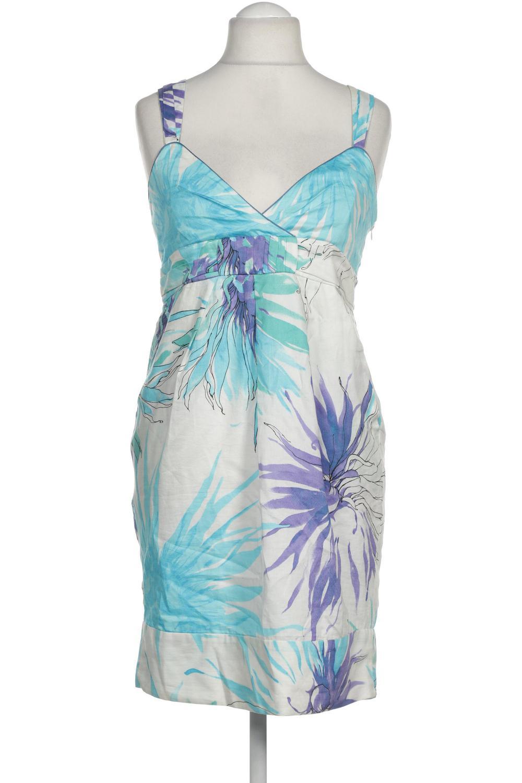 details zu zara kleid damen dress damenkleid gr. l baumwolle, viskose weiß  f557c7f