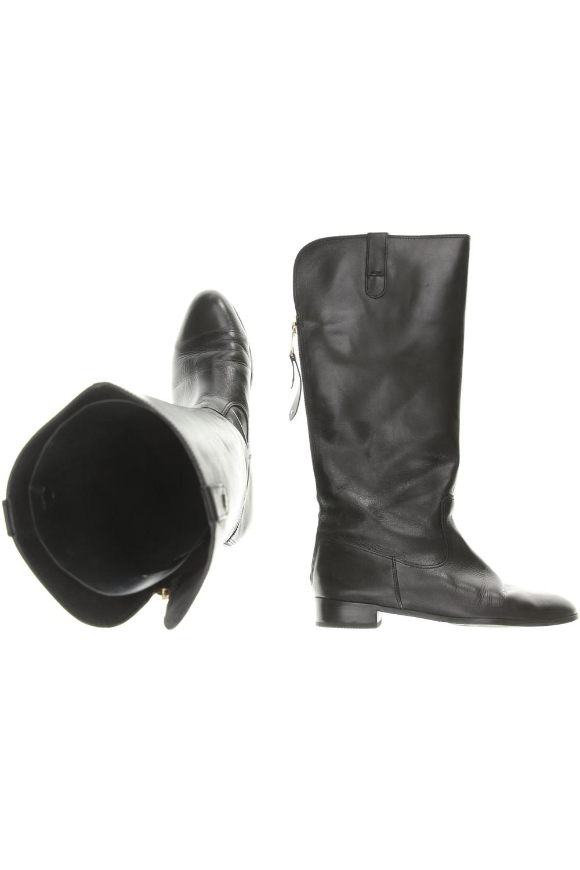 Details zu ZARA Stiefel Damen Boots Gr. DE 38 kein Etikett schwarz #4b8971b