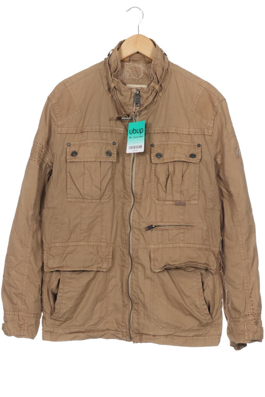 size 40 7e1ab 7a9f9 Details zu camel active Jacke Herren Mantel Gr. DE 52 Baumwolle beige  #e5c2caf