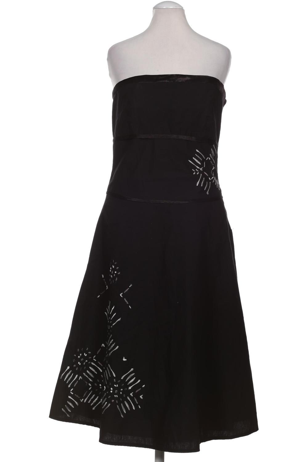 details zu zero kleid damen dress damenkleid gr. de 38 baumwolle schwarz  #aea28a4